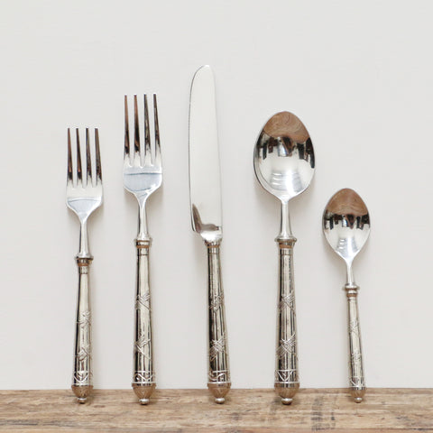 Five Piece Dragonfly Cutlery Set