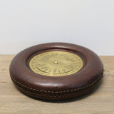 Leather Round The World Time Zone Converter