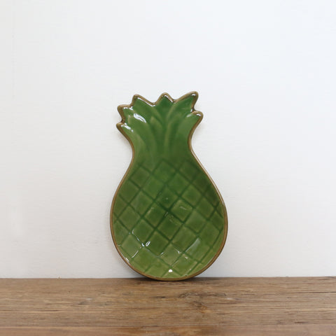 Green Pineapple Plate Small