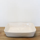 Costa Nova White Large Rectangular Baker 35cm