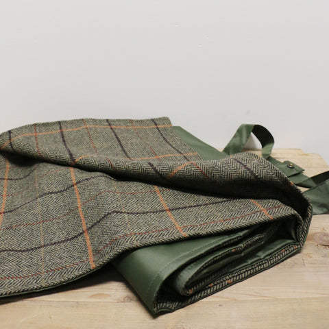Eventer Picnic Blanket in Olive Tweed