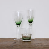 Ascot Green Tumbler Glass