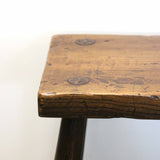 New Zealand Made Oak Hall Stool