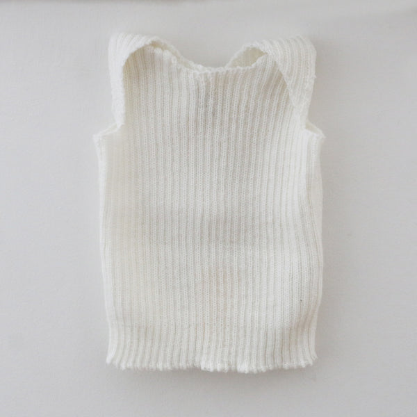 New Zealand Made Knitted Baby Singlet 0-3 months
