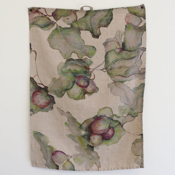 Ivy & Fig Linen Tea Towel