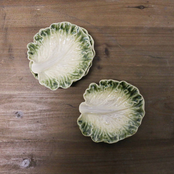 Cabbage Leaf Plate Small