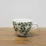 Florentine Ceramic Mug in Green