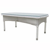 Deauville Sofa Table White
