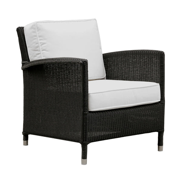 Deauville Lounge Chair in Black