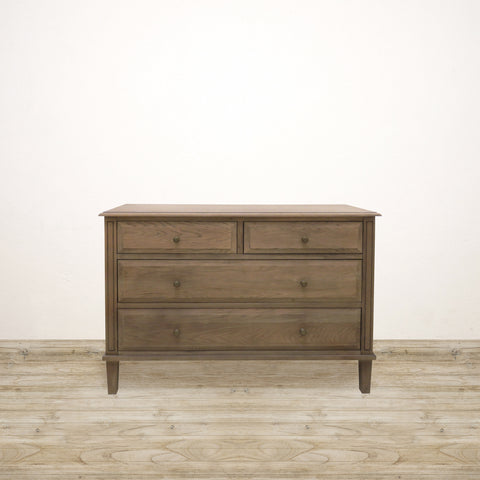 Natural Timber Chest of Four Drawers