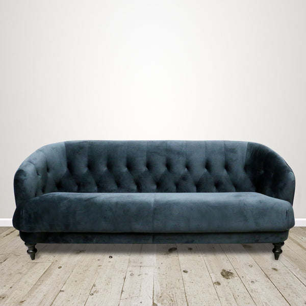 Dark Teal Venezia Three Seater Couch