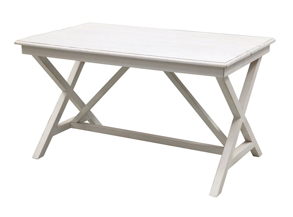 White Wash Recycled Pine Desk