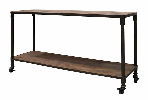 Industrial Recycled Pine Console