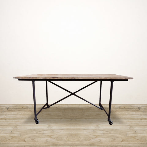Industrial Farmhouse Dining Table