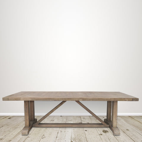 Recycled Pine Farmhouse Dining Table