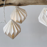 Handmade Hexagonal Lantern String Lights