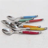 Laguiole Mulitcoloured Teaspoons Set of 6