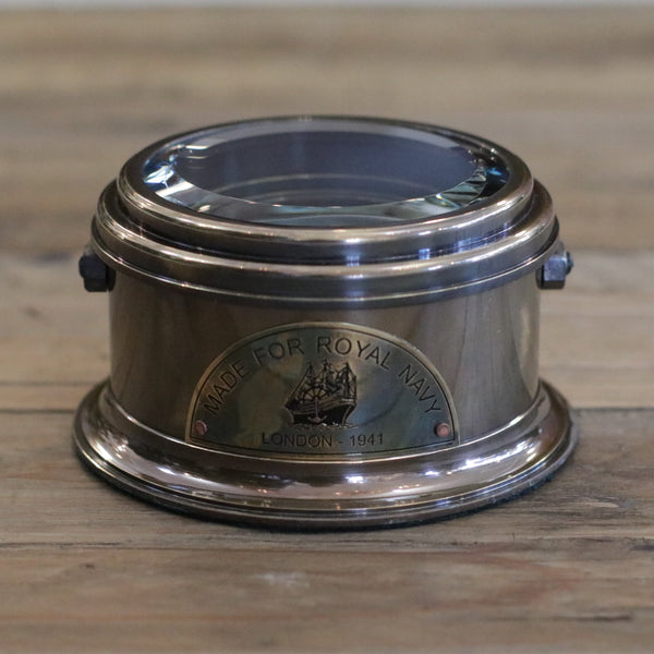 Antique Style Drum Compass
