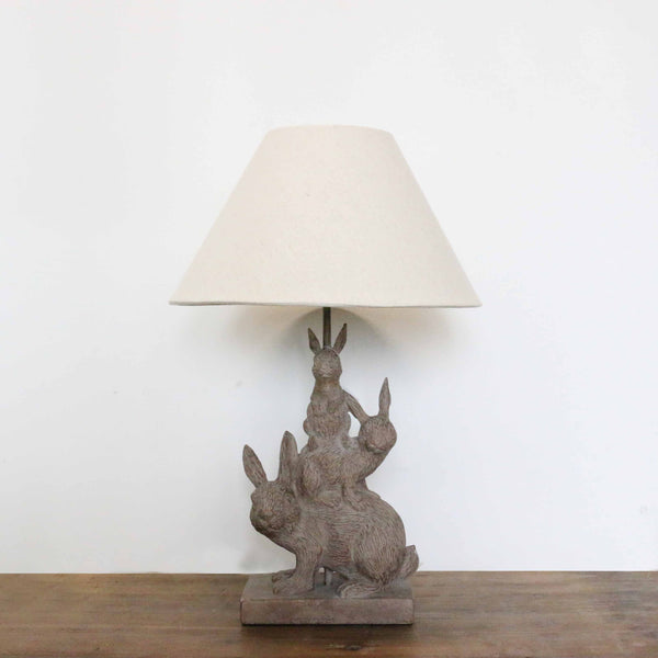 Climbing Rabbits Lamp