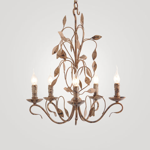 Baroque Chandelier in Antique Bronze Finish