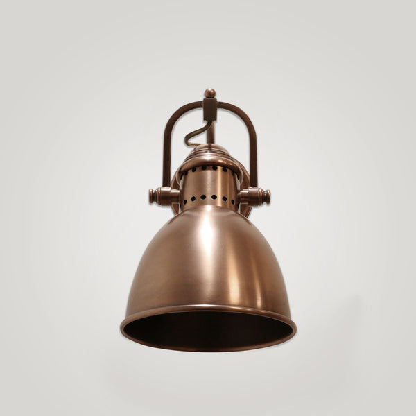 Bretagne Wall Light in Copper Finish