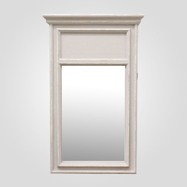 Provincial Style Mirror in Taupe
