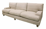 Lucchi 3 Seater Couch in Linen