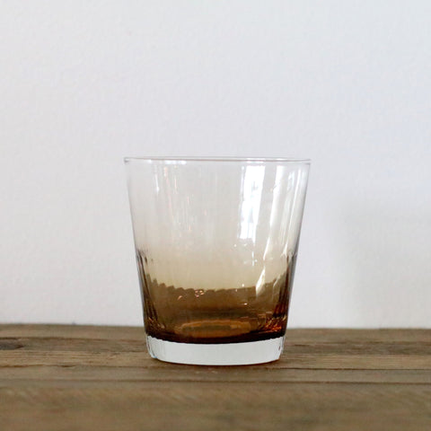 Ambretta Ridged Whiskey Glass