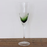 Ascot Green Champagne Glass