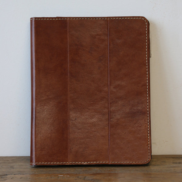 Leather iPad Case - Tan