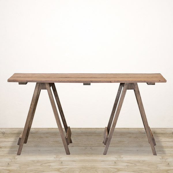 Trestle Desk in Recycled Pine