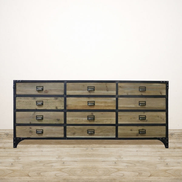 Sideboard with 12 Drawers