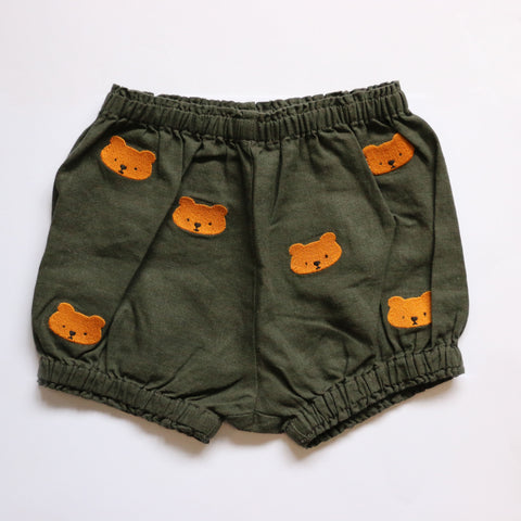 Donsje Bear Bloomer in Olive Green