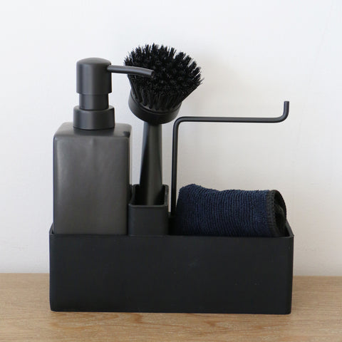 Danish Designed Black Dishwashing Set