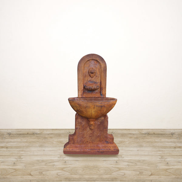 Stone Style Copper Brown Fountain