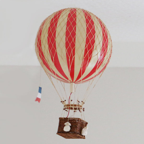Hot Air Balloon in Red