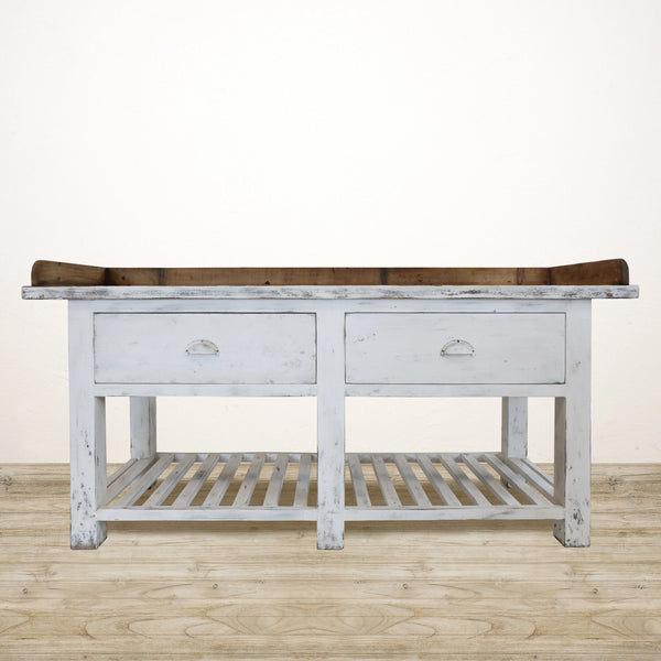 French Style Workbench Sideboard