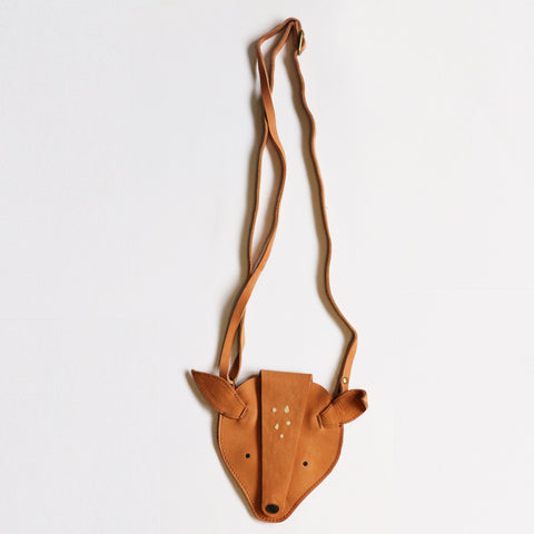 Donsje  Tan Leather Britta Deer Purse