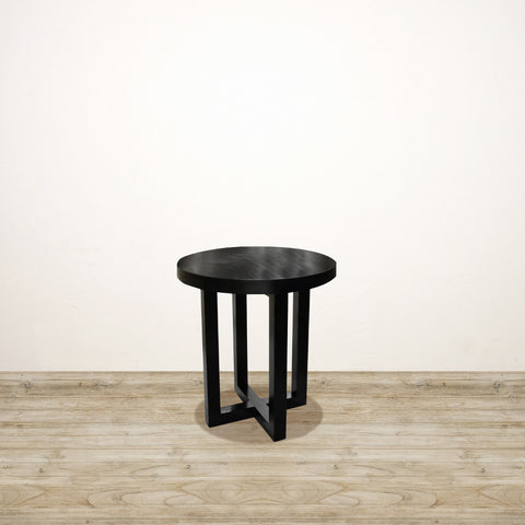 Tribeca Side Table with Cross Leg Detail