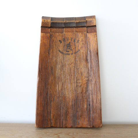 French Oak Barrel Stave Platter