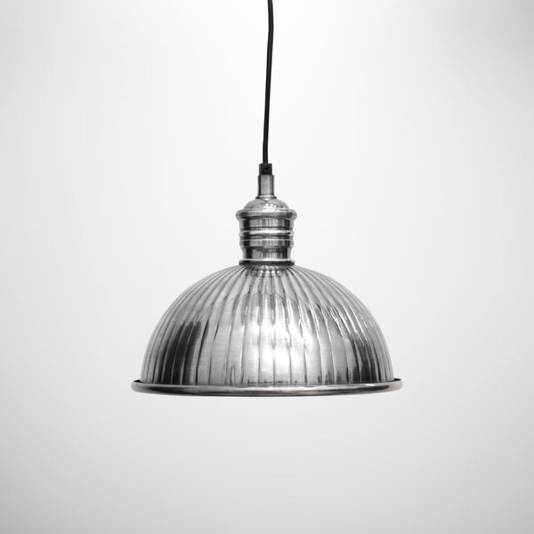 Brushed Pewter Style Hanging Lamp