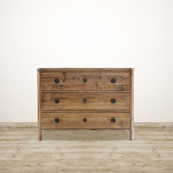 Recycled Pine Chest of Drawers