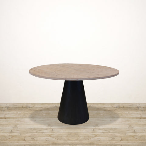 Paloma Recycled Pine Table with Conical Base