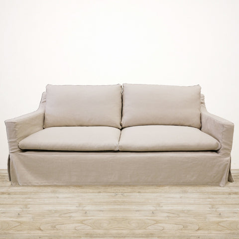Ashton 3 Seater Couch in Natural Linen