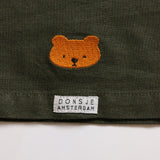 Donsje Bear Cecile Dress in Olive Green