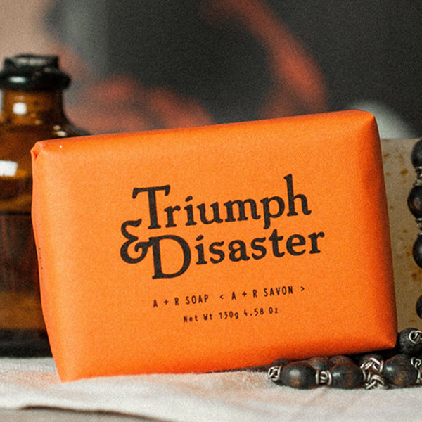 Triumph and Disaster A + R Soap