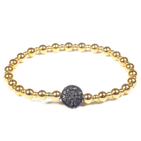 B1585 stretch ball bracelet