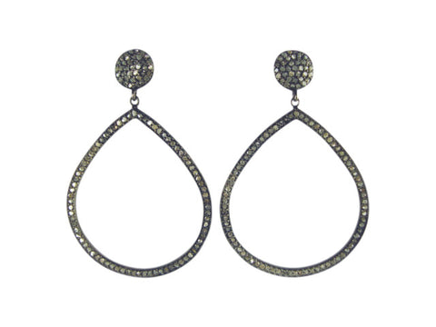 D1005 Earring diamonds