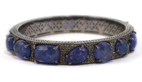 D3105 tanzanite & diamonds bracelet