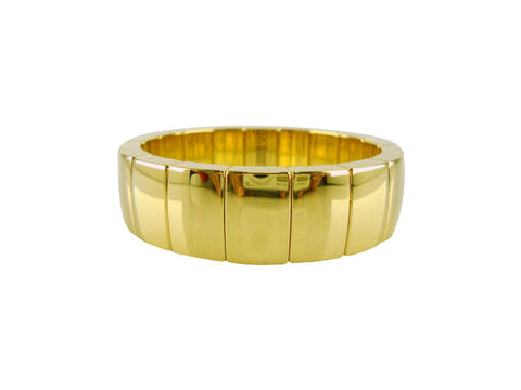 D8173 Bracelet stretch gold sections